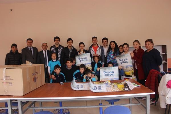 Tuzla'dan Uzanan Sıcak Eller Kastamonu ve Sinop'u Sardı