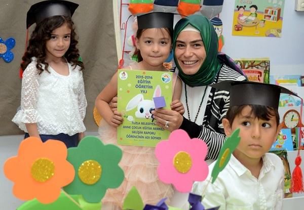 Anne ve Çocuk Eğitim Merkezi, 2. Yılında 2500 Mezunu Uğurladı