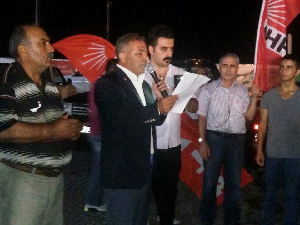 Kemal Kılıçdaroğlu'na Saldırı Tuzla'da Protesto Edildi