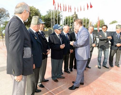Gazilerimiz, Tuzla'da Saygıyla Anıldı