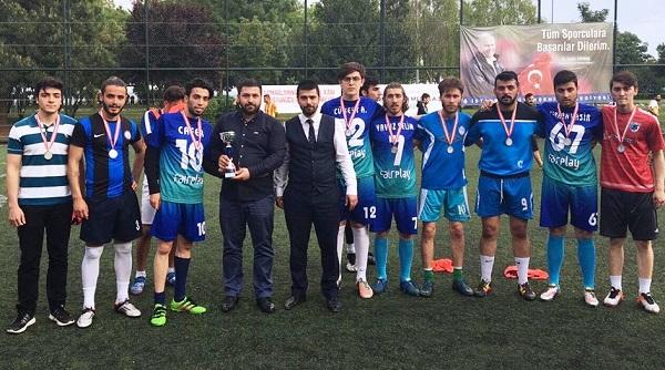 Tuzla Ülkü Ocakları Futbol Turnuvasında Şampiyon TuzlaSk