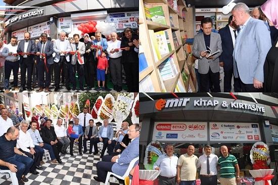 Emir Kitap ve Kırtasiye Yeni Şubesi Cami Mahallesi'nde Açıldı