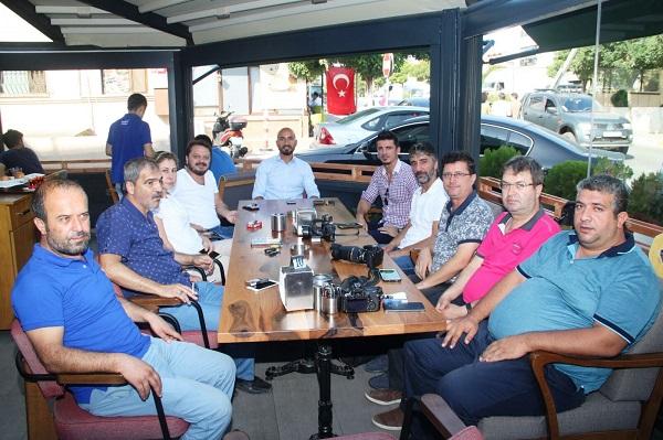 Murat Erdoğan Tuzla Gazeteciler Derneği İle Kahvaltıda Bir Araya Geldi
