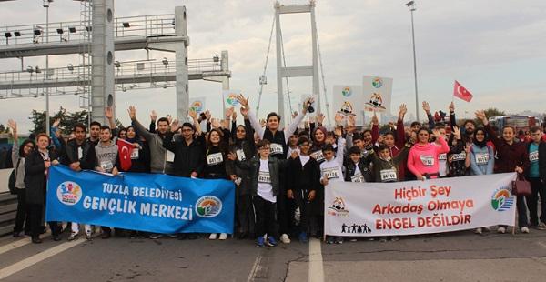 Tuzla Belediyesi Eğitim Birimleri, 39. Avrasya Maratonu'na Katıldı