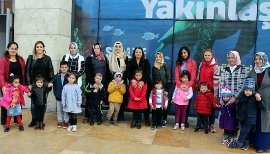 Anne Çocuk Eğitim Merkezi, Kursiyerlerine Sosyal Aktiviteler de Düzenliyor