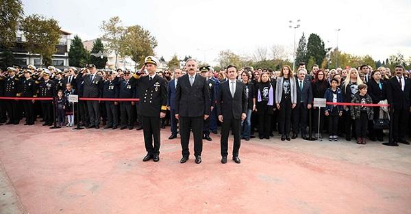 Mustafa Kemal Atatürk, Tuzla'da Saygıyla Anıldı