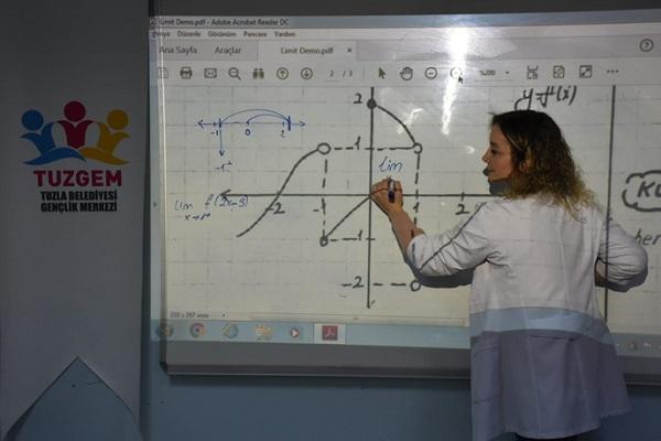 Tuzla'da Kesintisiz Eğitim