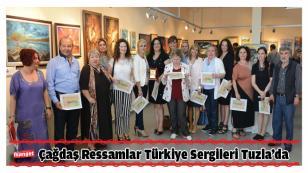 Çağdaş Ressamlar Türkiye Sergileri Tuzla'da