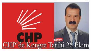 CHP'de Kongre Tarihi 26 Ekim 2014
