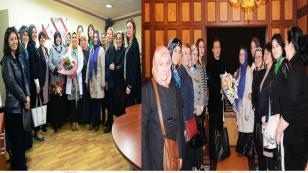 Kadın Kent Gönüllüleri'nden Yazıcı Ailesine Çifte Kutlama