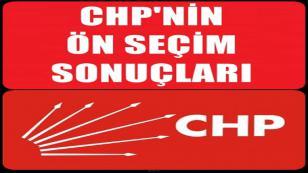 CHP'de Önseçim Yapıldı