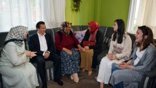 Başkan Yazıcı ve Eşinden Anneler Günü Ziyaretleri