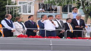 Başbakan Davutoğlu Tuzla'da Halka Seslendi