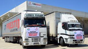 Tuzla Belediyesi, Türkmen Sığınmacılara Yardım Elini Uzattı