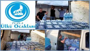 Tuzla Ülkü Ocakları'ndan Türkmenlere Yardım