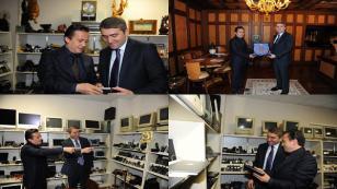 Selim Temurci'den Başkan Yazıcı'ya Ziyaret