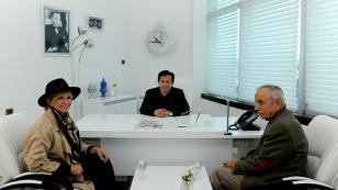 Filiz Akın, Başkan Yazıcı'yı Ziyaret Etti