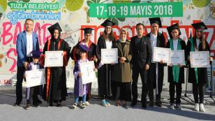 Tuzla Belediyesi Eğitim Birimleri, Bahar Şenliği'nde Buluştu