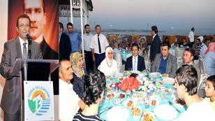 Tuzla Kaymakamlığı ve Tuzla Belediyesi'nden Şehit ve Gazilere Vefa İftarı