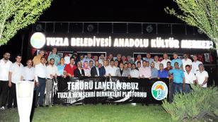 Tuzla'da 72 Dernek, Teröre Karşı Tek Yürek Oldu
