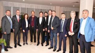 Başkan Yazıcı Siyasi Parti İlçe Başkanlarıyla Buluştu