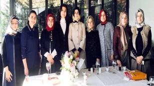 AK Parti Anadolu Yakası Kadın Kolları Başkanları Tuzlada Buluştu