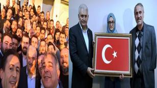 Başbakan Binali Yıldırım Tuzla Ak Parti İlçe Başkanlığını Ziyaret Etti