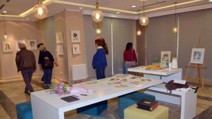 Rumeli Kültür Merkezi'nde 2 Yeni Sergi, Sanatseverlerle Buluştu