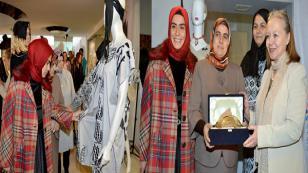 Geleneksel Türk El Yazmacılığı Ürünleri, Okan Üniversitesi'nde Sergileniyor