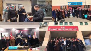 AK Kadınlar Tuzla'dan Silvan'a Gönül Köprüsü Oldular