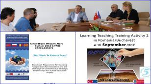 Milli Eğitim Müdürlüğü ERASMUS Projesi Kapsamında Bükreş'te