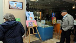 1 Atölyenin 2 Sergisi, Rumeli Kültür Merkezi'nde Sergileniyor