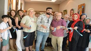 Hasan Koçan ve Öğrencileri, Rumeli Kültür Merkezi'nde Sergi Açtı