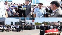 Şehit Polis Memuru Battal Yıldız'ın Cenazesi Dualarla Uğurlandı