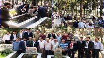 Kemal Çapraz Mezarı Başında Dualarla Anıldı