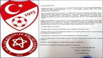 2. Ve 3. Lig Kulüpler Birliği'nden Açıklama