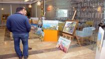 İstanbul Anadolu Yakası Resimleri, Tuzla Belediyesi Rumeli Kültür Merkezi'nde Sergileniyor