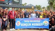 """Tuzla Belediyesi 2. Genç Gönüllüler Ligi, """"Color Up"""" Festivali Düzenledi"""
