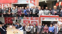 Tuzla MHP Evliya Çelebi İrtibat Bürosu Açıldı
