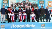 Türkiye'ye Örnek Eğitim Modeli Uygulayan Eğitim Biriminin Festivaline Bakanlar Katıldı