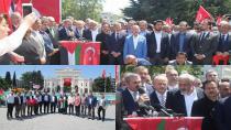 AK Parti İstanbul İsrail'i Kınadı