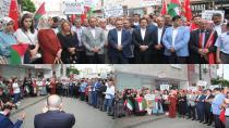 Tuzla'da Siyasi Partiler İsrail'i Nefretle Kınadı