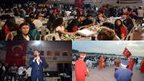 Tuzla Belediyesi Gençlik Merkezi, 19 Mayıs'ta Gençlik İftarı Düzenledi