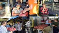 İftar Vakti İstanbul Trafiğinde Olanların İftariyelikleri Başkan Yazıcı'dan