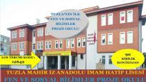 Tuzla'ya Fen Ve Sosyal Bilimler Proje Okulu Açılıyor
