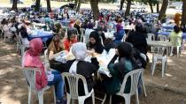 'Tuzla'da Spor Zamanı' Kursiyerleri, Birlikte Piknik Yaptı