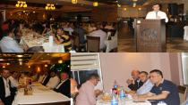 Serkan Bayram, Beyzade Restaurant'ta Hemşerileriyle Buluştu