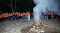 Tuzla Belediyesi Gençlik Merkezi'nin Kız Kursiyerleri, Birlikte Kamp Yaptı