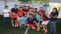 Tuzla Belediyesi Gençlik Merkezi Futbol Turnuvası'nda Kampçılar Şampiyon Oldu