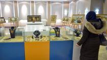 Kehribar Resim ve Marküteri Sergisi, Rumeli Kültür Merkezi'nde Sergileniyor